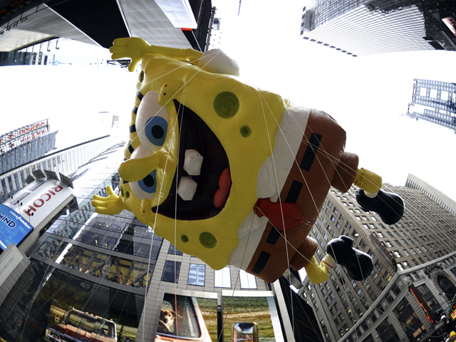 The 84th Annual Macy's Thanksgiving Day Parade in Photos