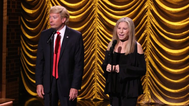 'Tonight Show': Barbra Streisand Duets With 'Donald Trump'