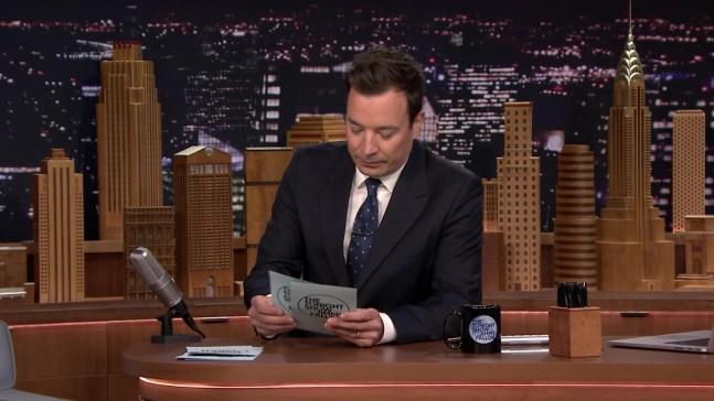 """Tonight Show"" Hashtags: #MisheardLyrics"