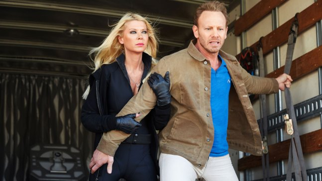 "Ian Ziering Dishes on ""Sharknado 4"""