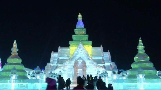 Ice and Snow Festival Opens in Northern China