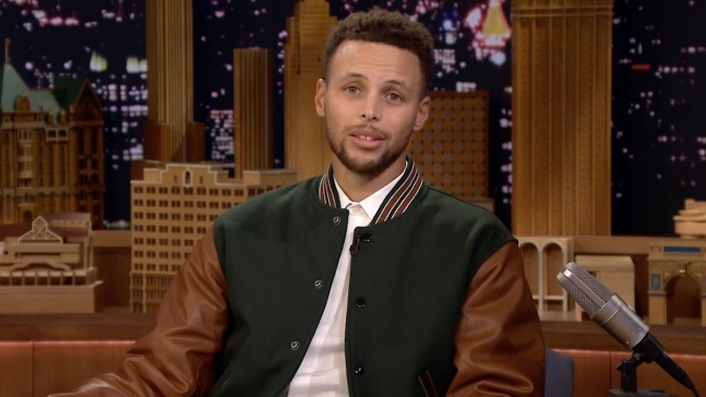'Tonight': Stephen Curry Reads His Veterans Day Essay