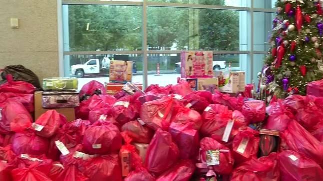 Dallas Businesses Make Huge Angel Tree Donation