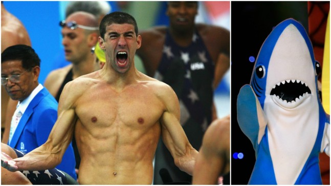 "Phelps Defends Shark Week ""Race"" Against Great White"