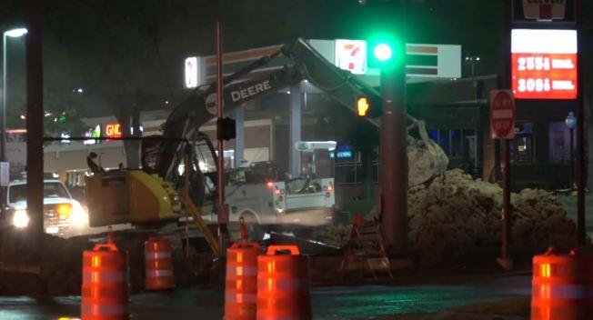 Gas Leak in Northwest Dallas Area