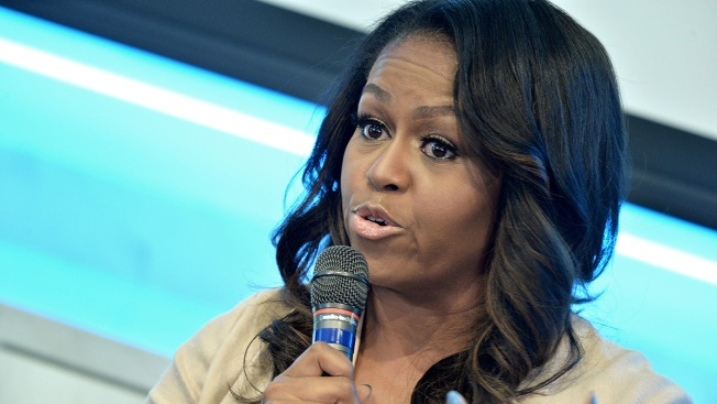 Michelle Obama Tells Students 'College Wasn't Meant to Do Alone'