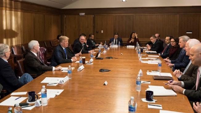 Trump Huddles With Hill's Top Republicans at Camp David