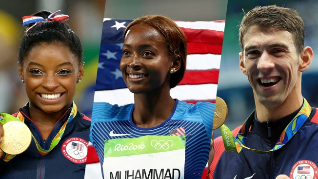 Team USA Keeps It 100 – and Counting – at Rio Olympics