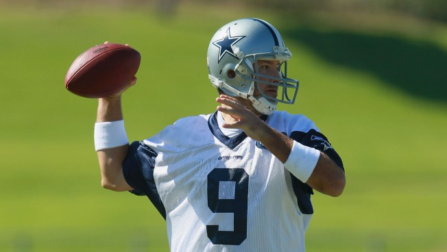 Romo Making Most of First Healthy Offseason in Two Years