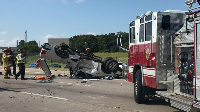 SH 114 Back Open After Major Crash in Westlake