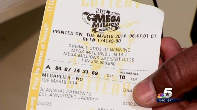 Mega Millions Winner Claims $1 Million Prize in Garland