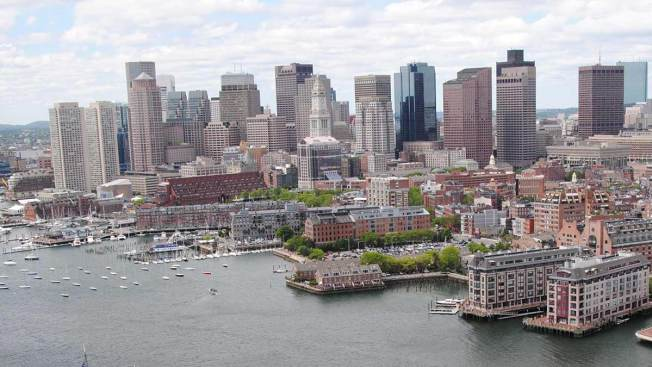 Tea Thrown Into Harbor for Anniversary of Boston Tea Party