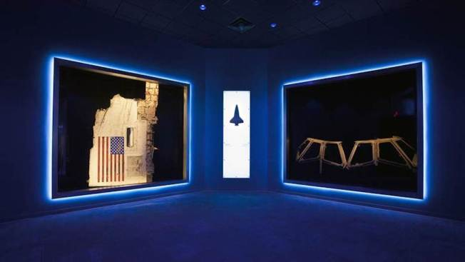 Challenger, Columbia Wreckage on Public Display for First Time