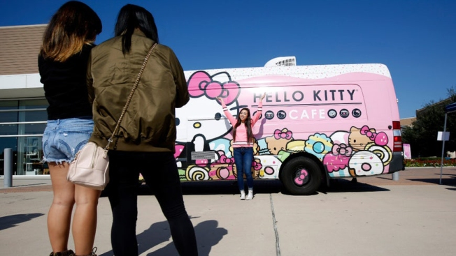 Meow! Hello Kitty Truck is Coming to Southlake