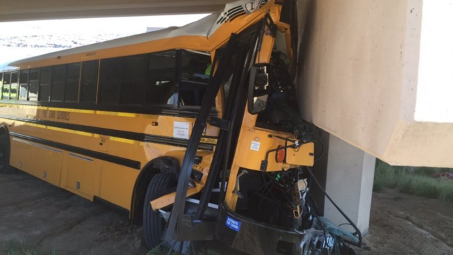 School bus driver circled back to airport