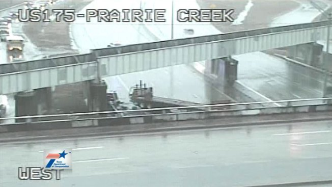 U.S. 175 Reopens at Prairie Creek After Tuesday Crash