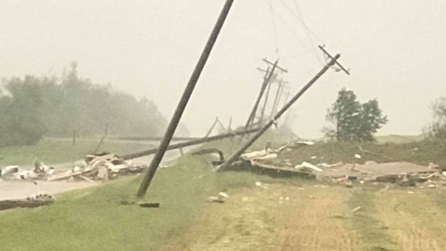 1 Dead Amid Flooding, Strong Thunderstorms in Midwest