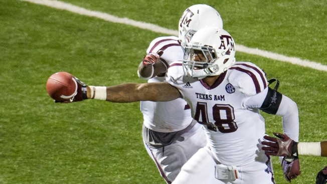 Texas A&M's Claiborne Arrested on Drug Charges