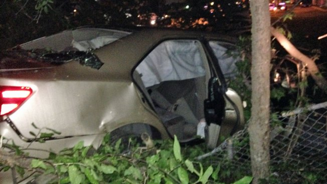 Police Pull Teens From Burning, Stolen Car