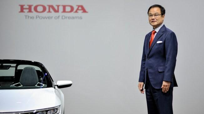 Honda's President Steps Down Amid Airbag Defect Scandal