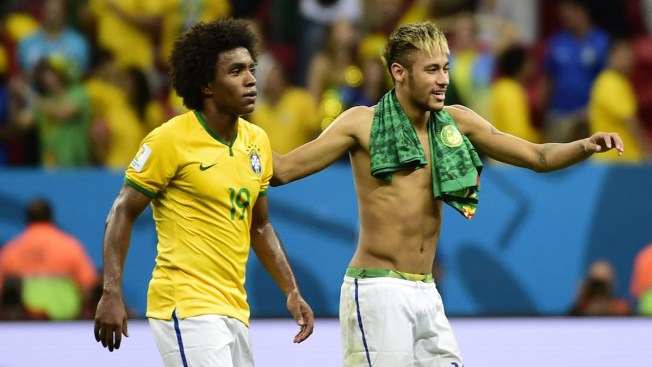 World Cup: Brazil's Coach Hints Willian May Replace Neymar in Semis