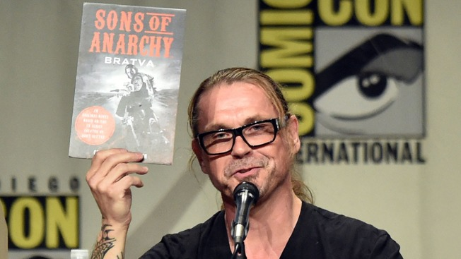 """Sons of Anarchy"" Book Announced at Comic-Con"