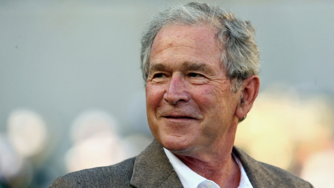 George W. Bush Didn't Vote for Clinton or Trump, NBC News Confirms