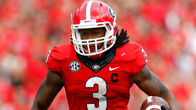 New Mock Draft Has 'Boys Taking Gurley