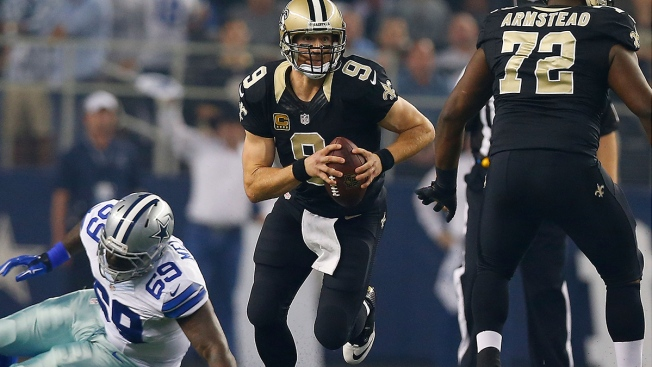 Brees Feels 'Really Good' About Chances of Playing Against Cowboys