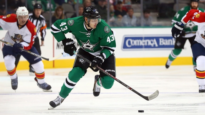 Conference-Leading Stars Beat Red Wings