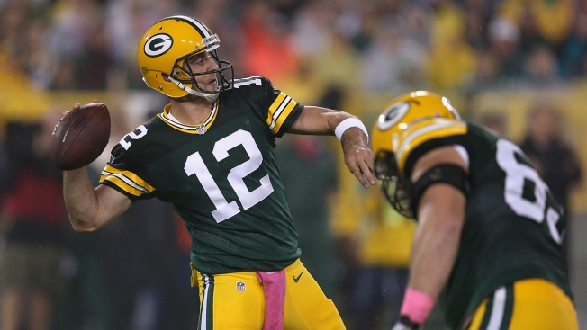 Rodgers Says He Will Play Sunday