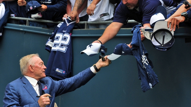 Jerry Jones Still Selling Optimism, But We Aren't Buying It