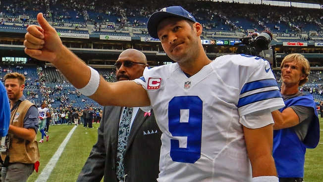 Tony Romo Says He's Feeling Good