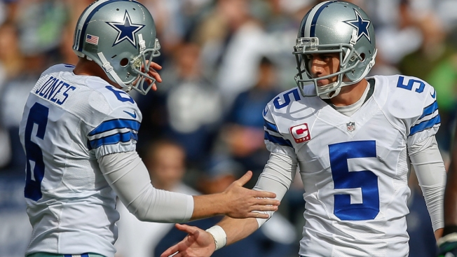 Dan Bailey Fine After Taking Shot to the Leg