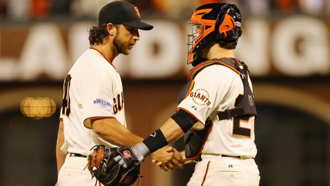 Bumgarner's World Series Dominance Began Against the Rangers