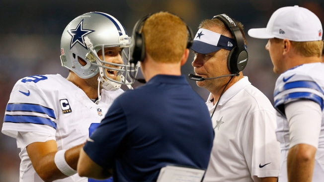 Garrett Explains Decision to Put Romo Back In
