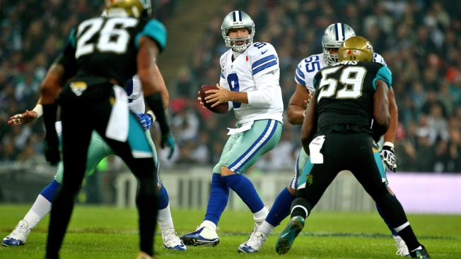 Tony Romo OK After Knockdown