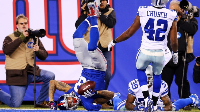 Cowboys Traditionally On The Receiving End Of Great NFL Catches