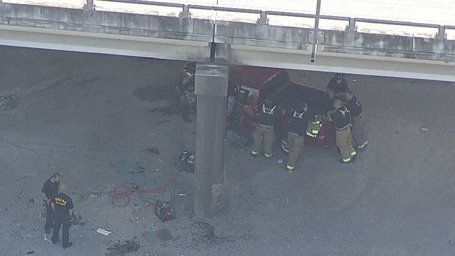 Deadly Crash Under Dallas Highway