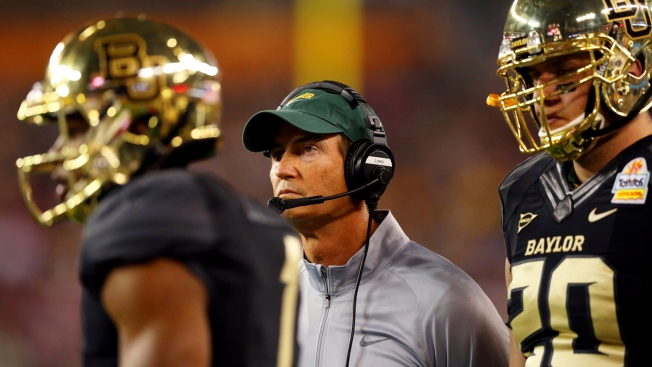 "Baylor's Art Briles Says ""No Desire"" For Other Job"