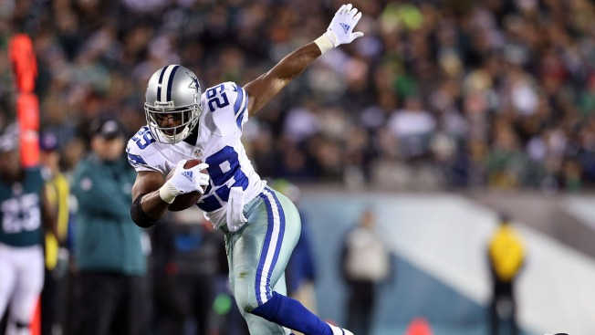 Even Without Murray, Cowboys' Running Game Would Be Productive
