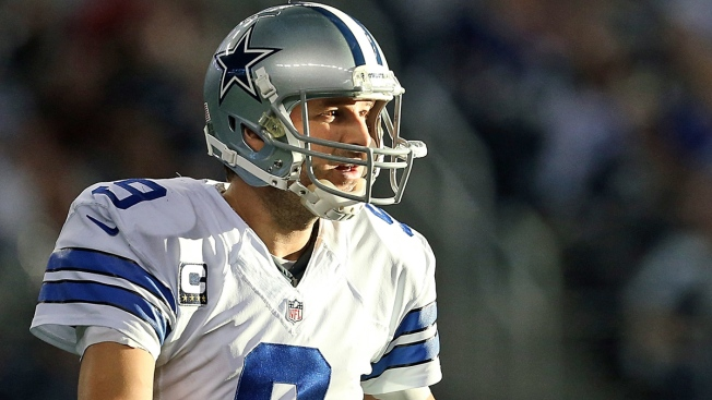 Cowboys' Romo Misses Camp Practice with Sty in Left Eye