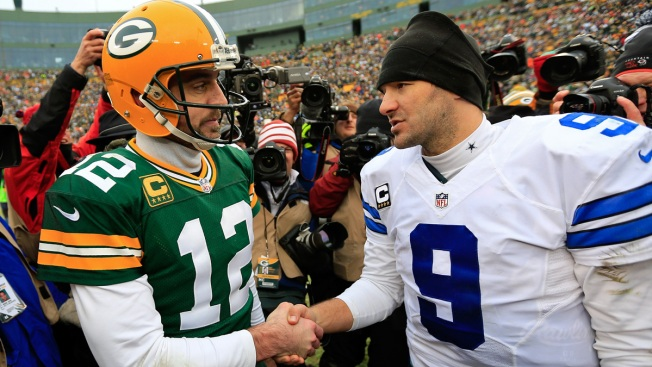Aaron Rodgers Can Relate to Romo's Collarbone Troubles