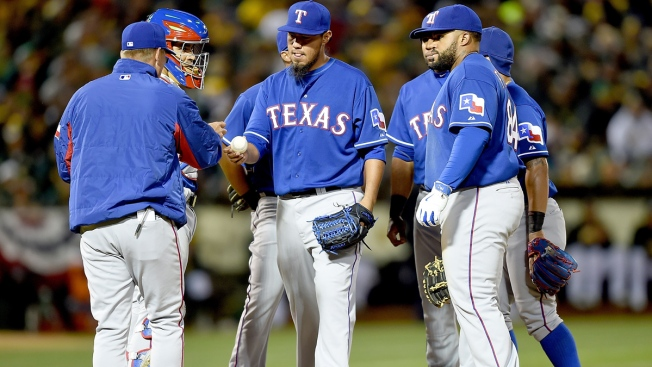 Gallardo Fails in Rangers Debut