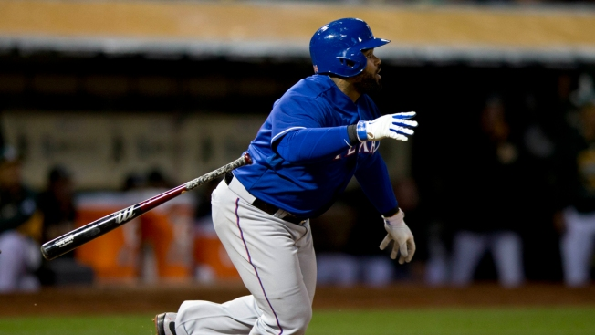Fielder Drives in 2, Leads Rangers Past A's 3-1