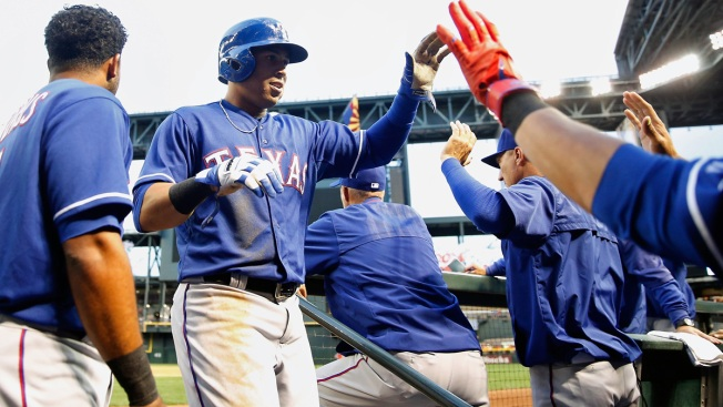 Once the Rangers' Center Fielder Of The Future, Martin Now Expendable