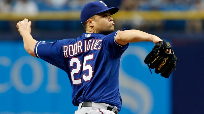 Wandy Rodriguez Designated for Assignment By Rangers