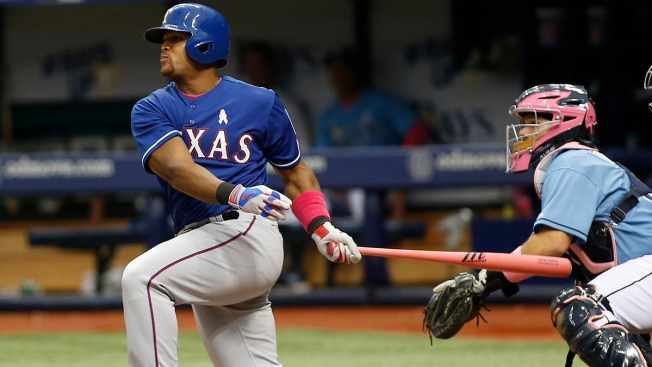 Beltre, Rodriguez Carry Rangers to Win Over Rays