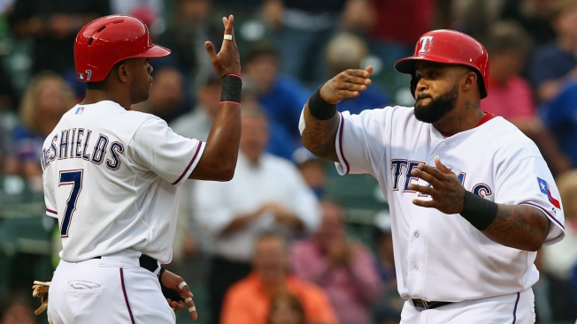 DeShields Has Truly Been Godsend for Rangers