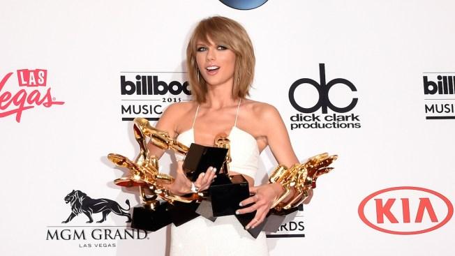 Taylor Swift Dominates Billboard Awards, Kanye West Gets Booed